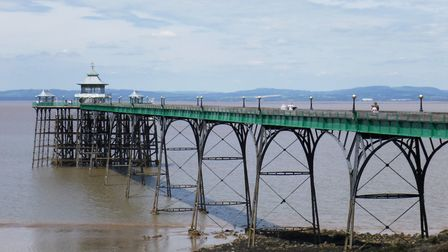 The ever-beautiful Clevedon Pier.