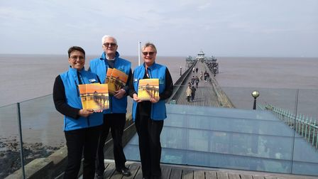 Clevedon Pier has released its 150th anniversary booklet. Picture: Tom Vaughan