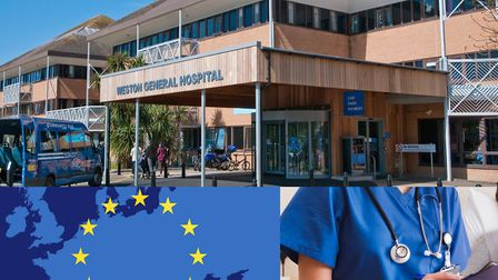 Weston General Hospital says its EU employees are a 'valuable workforce'.