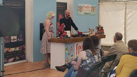 Chefs demonstrating at the Bristol Foodies Festival. Picture: Eleanor Young