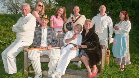 Shipham Players dress rehearsal of Outside Edge. Picture: MARK ATHERTON