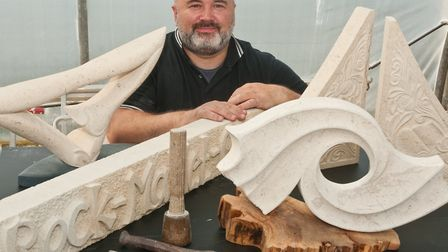 Rob Maxfield is a sculptor working in stone. From his workshop in Congresbury he undertakes commissi