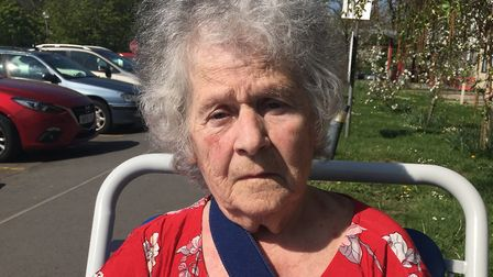 Mary Nicoll who was left waiting almost seven hours for an ambulance.