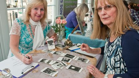 Jo Pearce and her Angels Help and Guide business at Westons Psychic & Holistic Festival.Picture: MAR