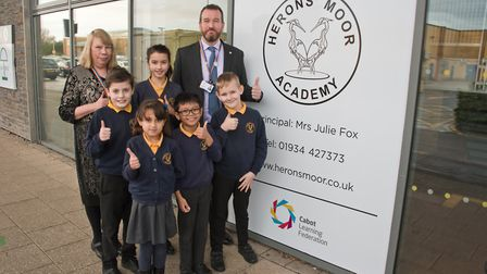 Herons Moor Academy joined the Cabot Learning Foundation. Picture: MARK ATHERTON