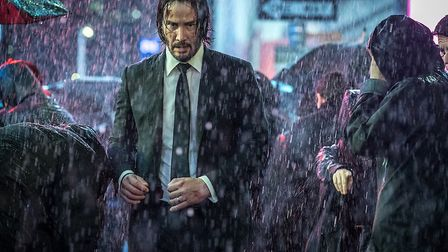 Keanu Reeves returns as John Wick. Picture: Lionsgate Movies
