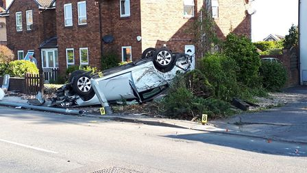The incident took place on Sunday evening. Picture: Mark Newman
