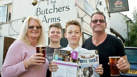 The Butcher's Arms was included in CAMRA's Good Beer Guide for 2019. Picture: MARK ATHERTON