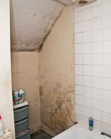 The shower is unusable. Picture: MARK ATHERTON
