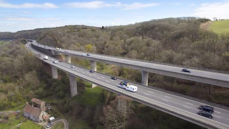 The M5 has been named as one of England's favourite roads to drive on. Picture: Highways England