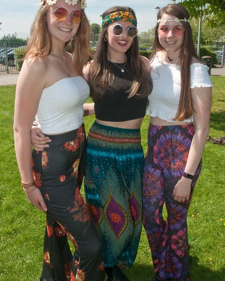 Nailsea School sixth form leavers day. Picture: MARK ATHERTON