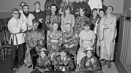 Members of local churches wore Eastern costume for a inter-denominational Eastern Evening at Waterlo