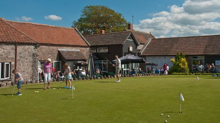 Mendip Springs Golf Club open day. Picture: MARK ATHERTON