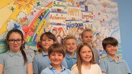High Down Schools' pupils were praised for their good attitude by Ofsted. Picture: High Down Schools