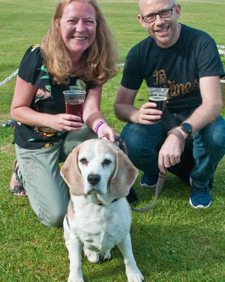 Weston Cricket Club beer and cider festival. Picture: MARK ATHERTON