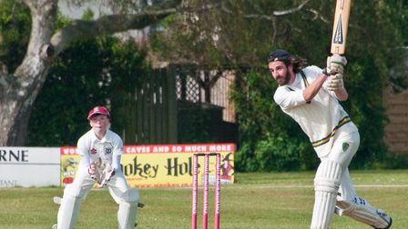 Charity Cricket match at Weston Cricket Club beer and cider festival. Picture: MARK ATHERTON