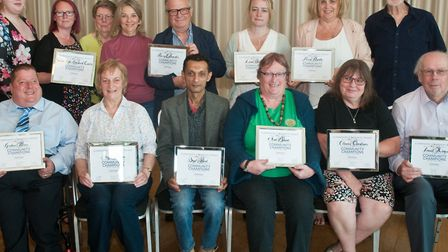 Community Champions of Weston-super-Mare, presentations at the Regency Suite, on Grand Pier. Pict