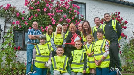 Members of Bleadon In Bloom who have entered the Britain In Bloom competition this year. Picture: