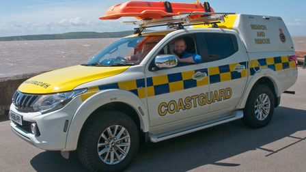 Weston Coast Guard have a new vehicle. Picture: MARK ATHERTON
