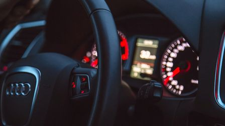 The Audi driver was travelling at 113mph.