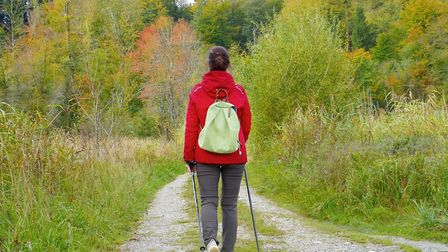 You could take up walking as part of a more active lifestyle.