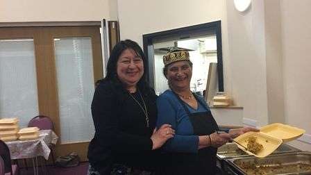 Ramadan charity meal held at The Salvation Army in Weston on May 28.Picture: Sayd Ahmed