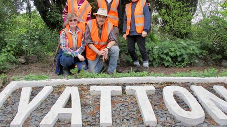 Friends of Yatton Station. Picture: Faith Moulin