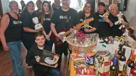Fundraiser for Makayla Nunn at Up The Wall pub in Knightstone Road. Picture: MARK ATHERTON