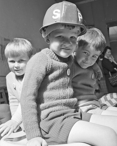 Children pictured at Banwell Play Group at the Church Hall. Mothers of the children have organised a