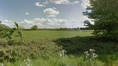 Barrett Homes is seeking permission to build 171 homes and a school on land at Brue Farm.Picture: Go