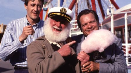 Only Fools and Horses (Jolly Boys Outing - Christmas Special 1989) - Picture shows (L-R) Nicholas Ly