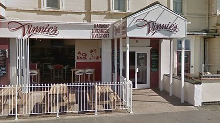 Police found a cannabis factory in what was Vinnie's Bar in burnahm-on-Sea. Picture: Google