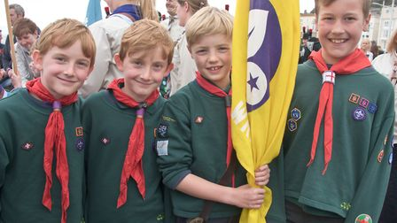 The Burrington and Wrington Scout and Guide Group is looking for volunteers.Picture: Mark Atherton