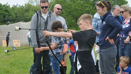A family fun day in aid of Westons YMCA homelessness project at Mendip Outdoor Pursuits.Picture: Jer