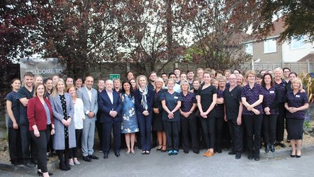 The Houston Group team. Picture: Fiona Fileldhouse