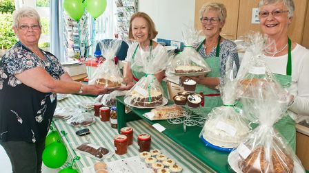 The cake stall at Weston Hospicecare summer fair. Picture: MARK ATHERTON