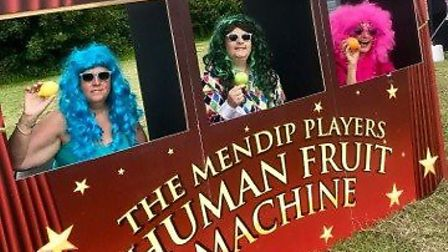 Members from Draycotts The Mendip Players at the village strawberry fair.Picture: Donna Kynaston