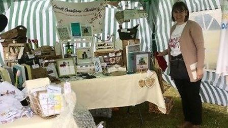 Penny Marshall from Nylands Cavell Creations.Picture: Donna Kynaston