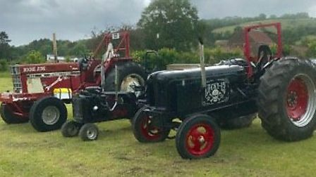 Tractors also made an appearance at Draycotts fair on Sunday.Picture: Donna Kynaston