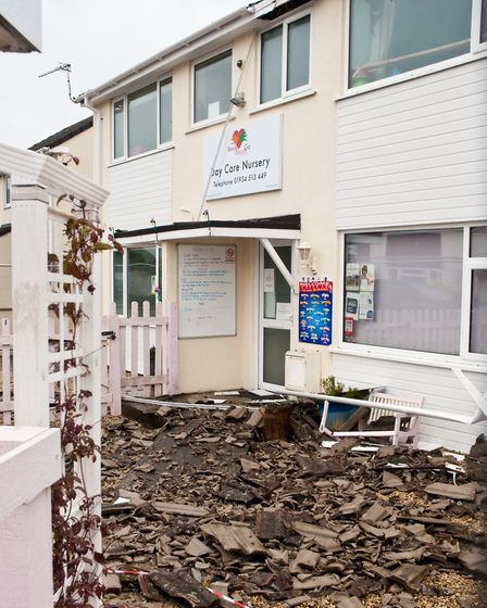 Ready Steady Go nursery was struck by lightning. Picture: MARK ATHERTON