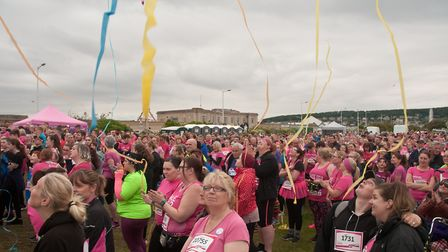 Cancer Research UK's Race for Life on Weston Sea Front. Picture: MARK ATHERTON