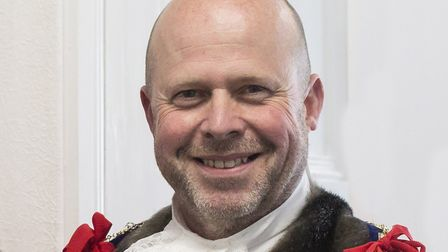 Mark Canniford was elected as the new mayor of Weston. Picture: Andrew Thompson