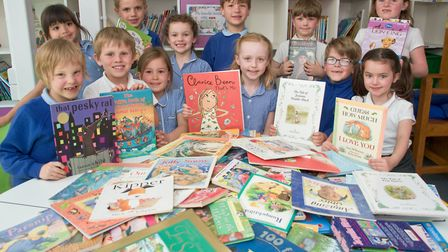 Books For Schools hand over of school books to West Leigh Infants School Council.