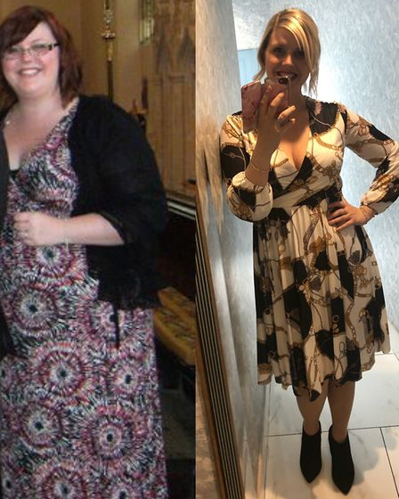 Suzy Summerhayes before and after her incredible weightloss