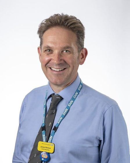 James Rimmer, chief executive of Weston Area Health NHS Trust (WAHT).
