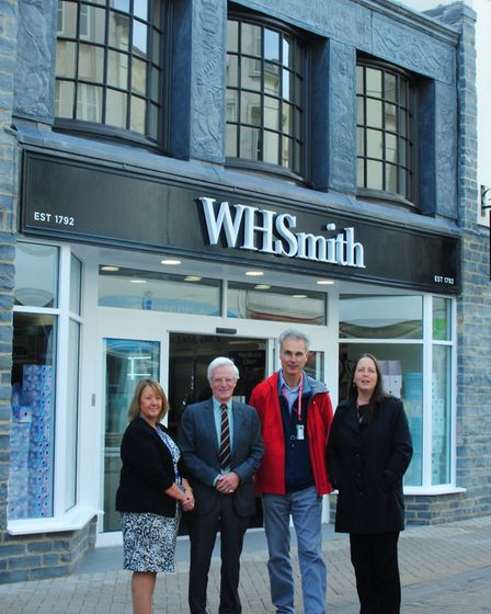 W H Smith restored and reopened