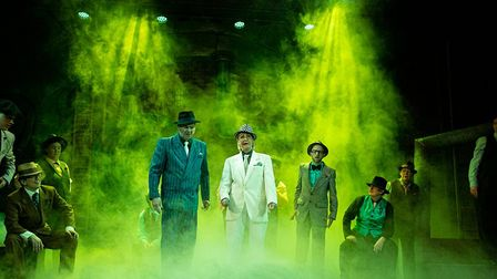 The cast of Guys & Dolls. Picture: Stewart McPherson