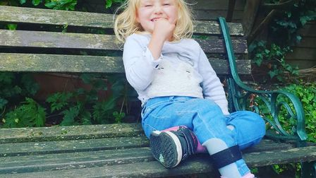 Rosie May Edwards' parents are looking to riase £80,000 to fund her operation in America.