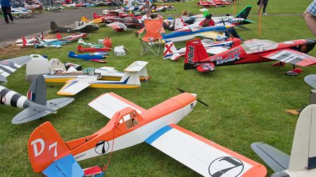 Woodspring Model Air Show at Claverham Airfield, Claverham Drove. Picture: MARK ATHERTON