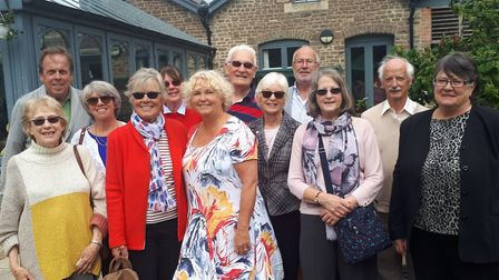 Hutton Bloomers visit local hospice during their open day